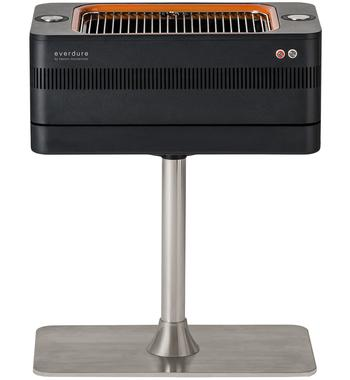 Everdure by Heston Blumenthal HBCE1BS Fusion Charcoal BBQ with Pedestal