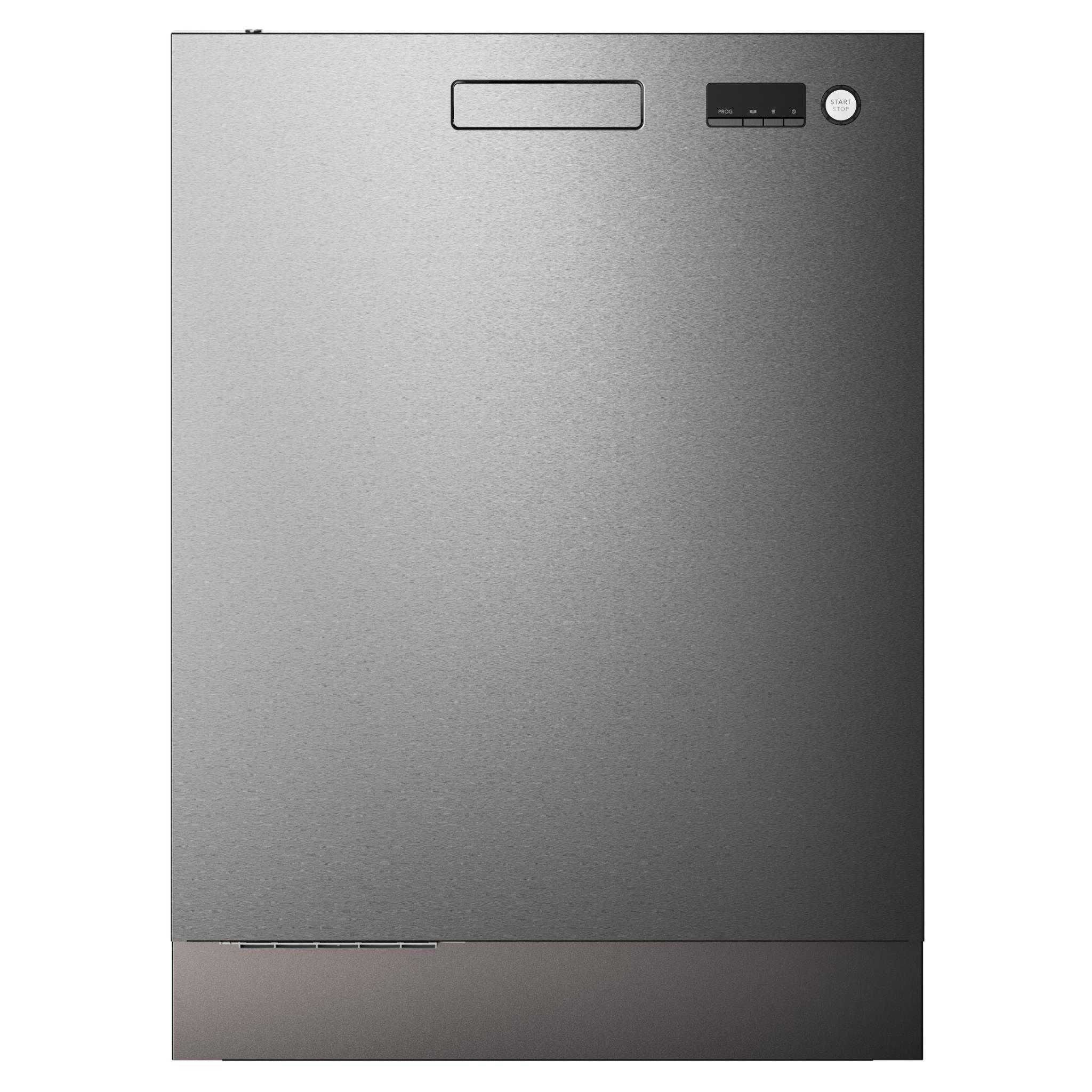 ASKO DBI253S 15 Place Setting Built-In Dishwasher (S/Steel)
