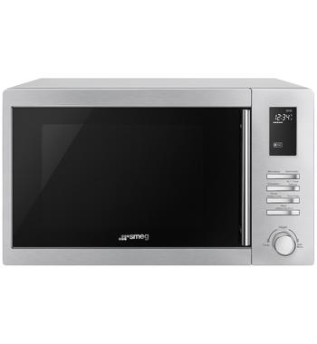 Smeg SAM34XI 34L Inverter Microwave with Grill 1000W