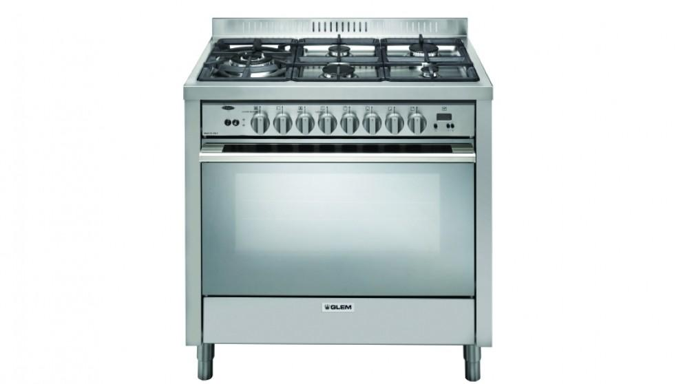 Glem 900mm Freestanding Bi-Energy Cooker – Stainless Steel