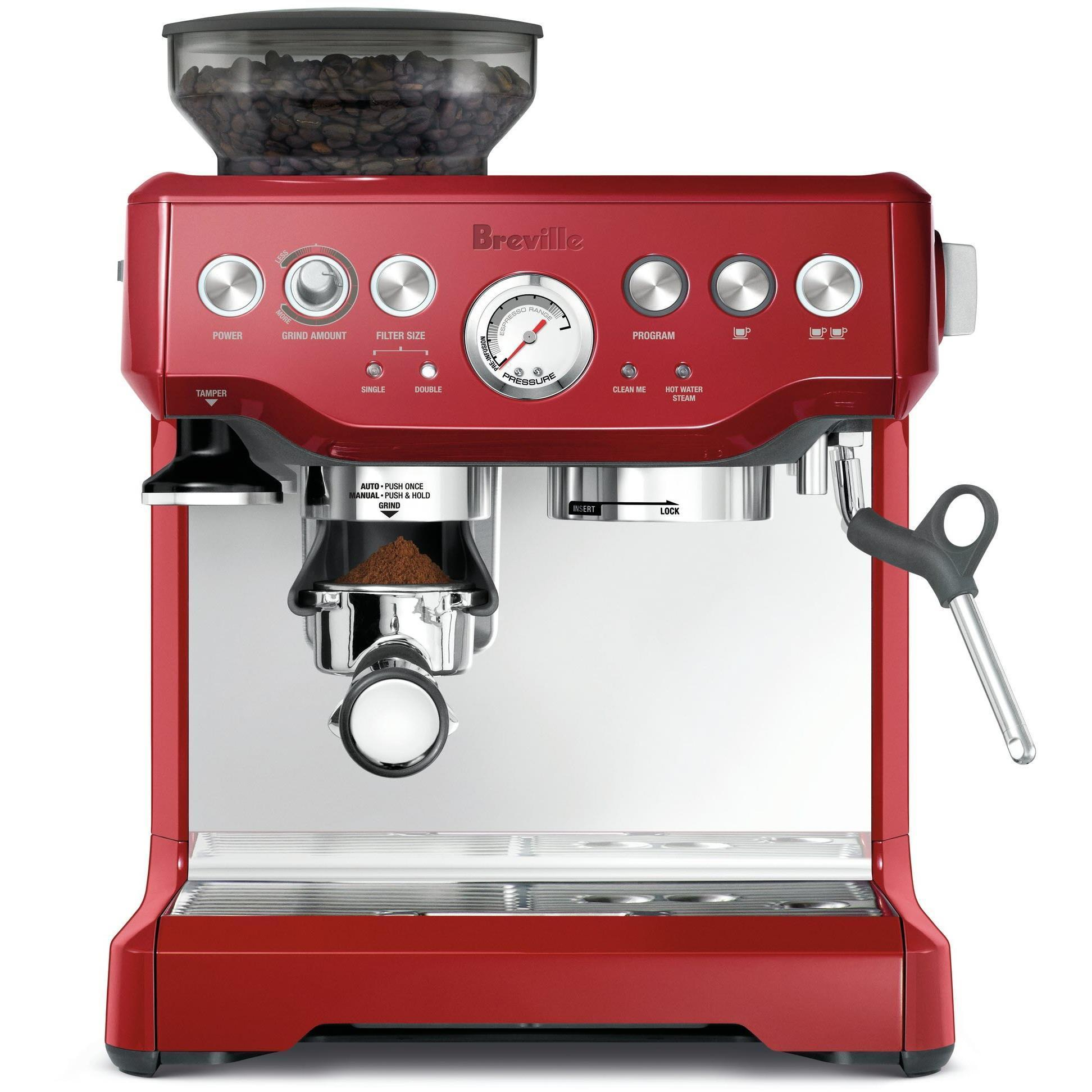 Breville The Barista Express (Cranberry)