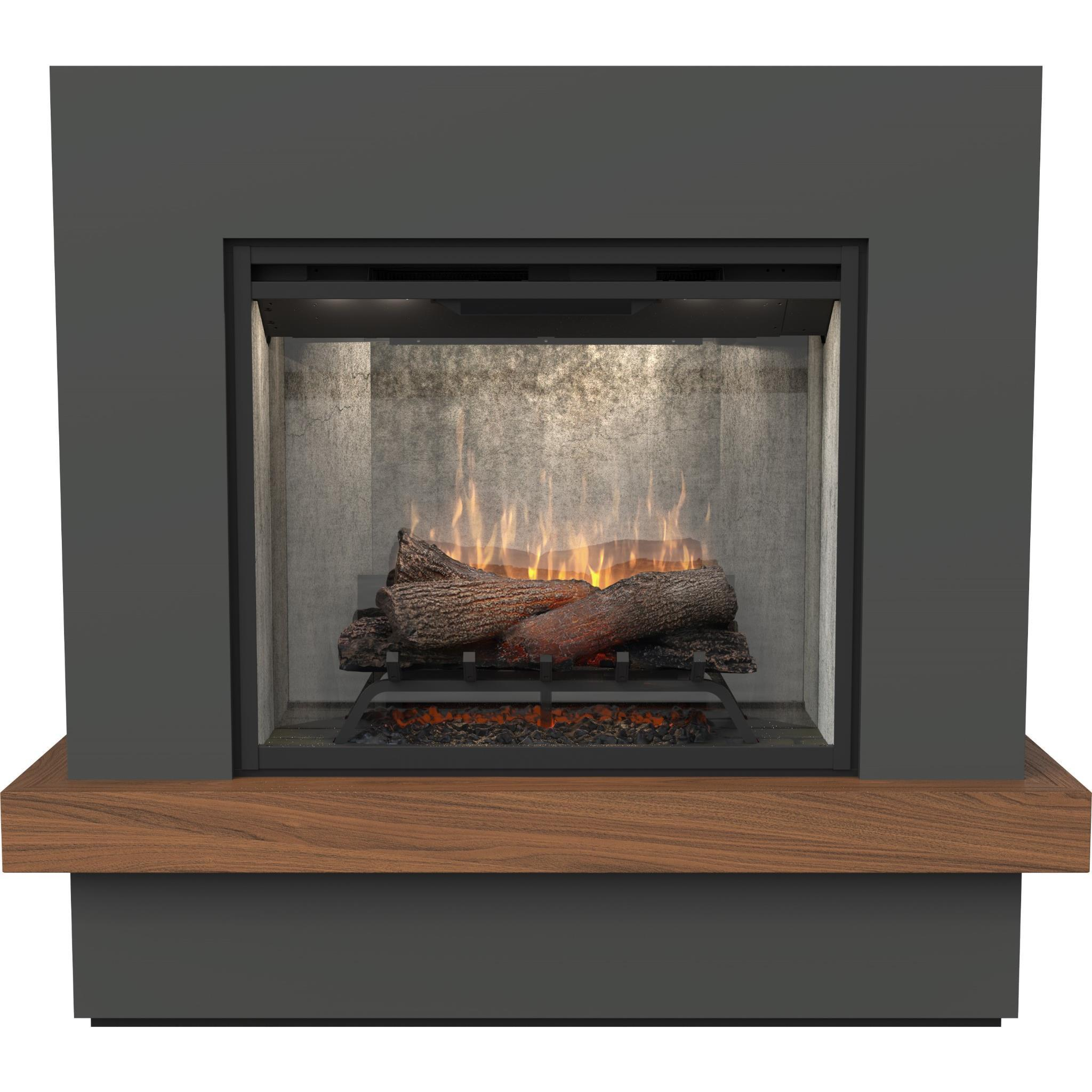 Dimplex Sherwood 2kW Revillusion Suite Electric Firebox with Mantel