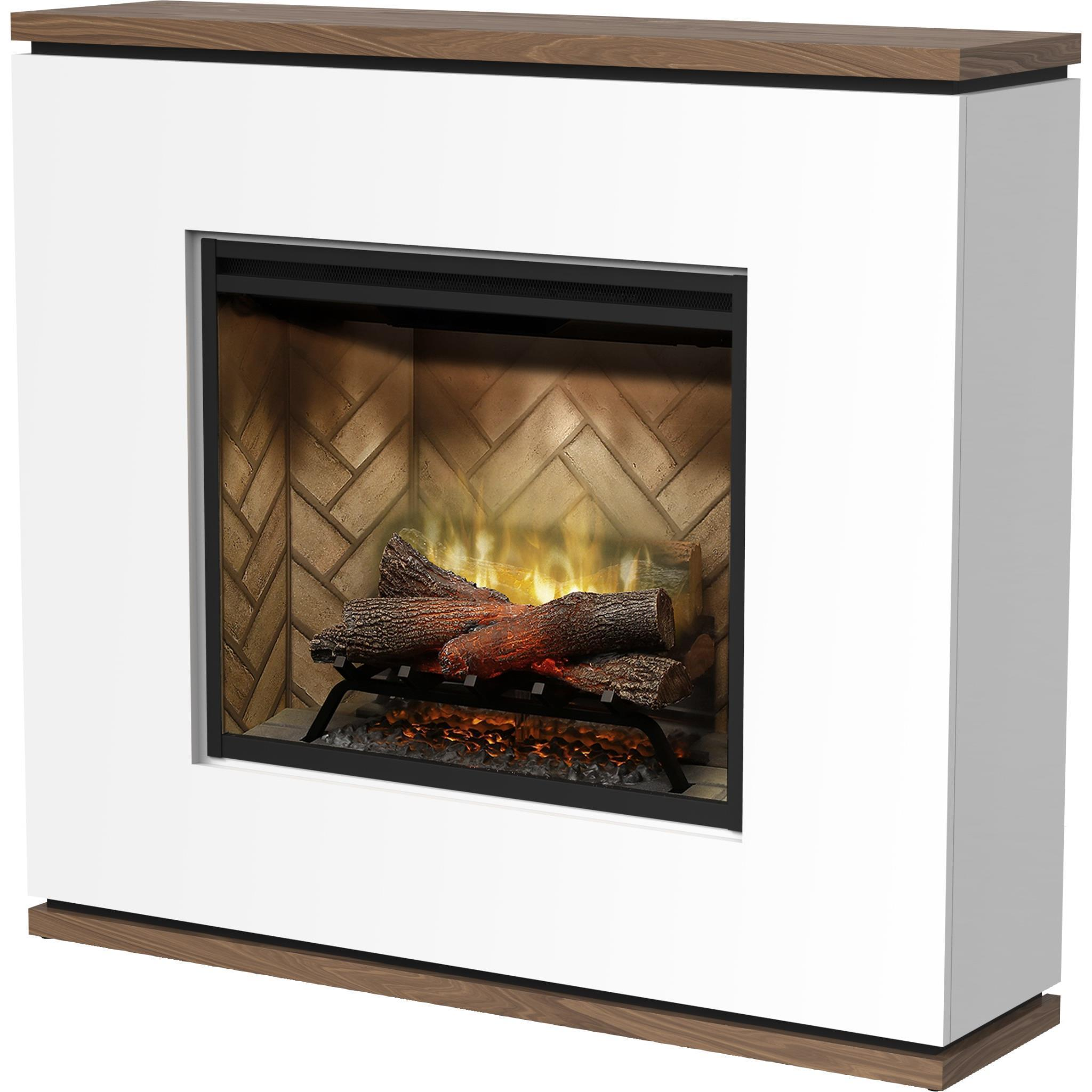 Dimplex Strata 2kW Revillusion Suite Electric Fireplace with Mantel
