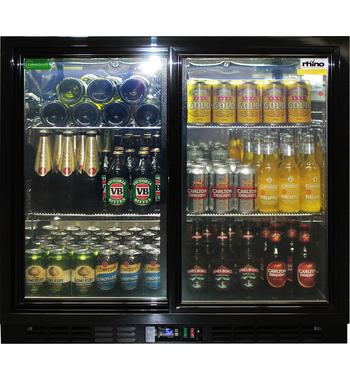 Rhino Two Door Beverage Centre SG2S-B