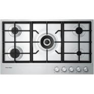 Fisher & Paykel – CG905DX1 – 90cm Gas on Steel Cooktop