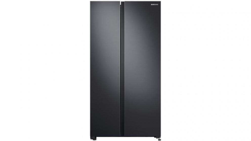 Samsung 696L Matte Black Side By Side Fridge with SpaceMax Technology