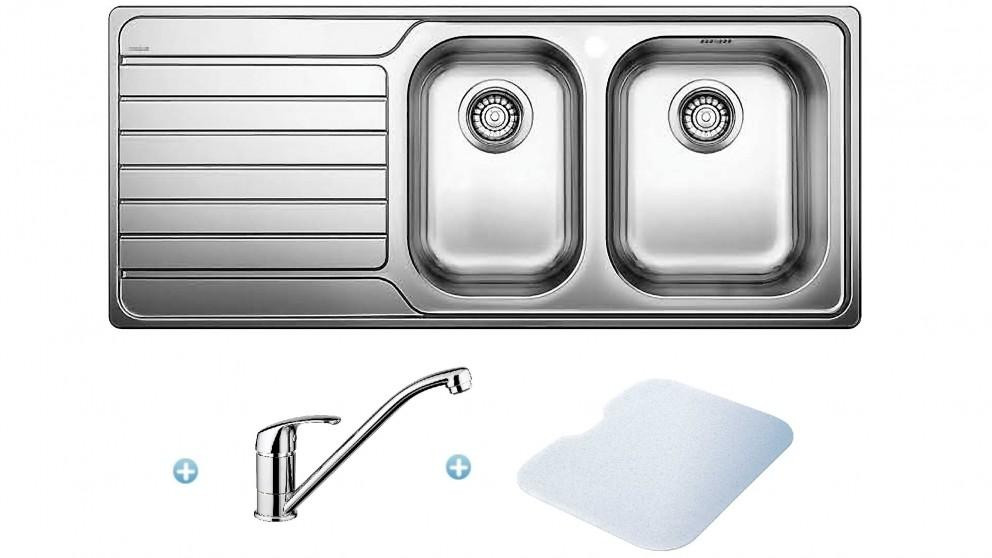 Blanco 1 and 3/4 Bowl Sink Pack – Right Hand Bowl