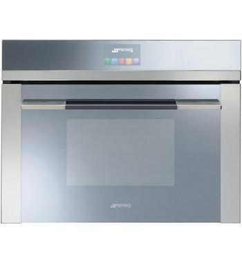 Smeg SFA4140MC 50L Linear Aesthetic Compact Built-In Oven 1000W