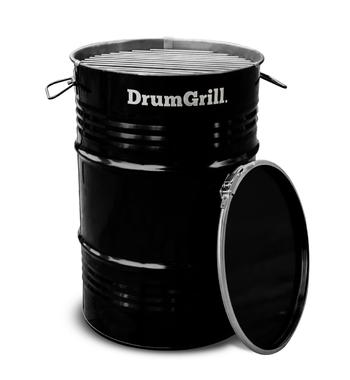 DrumGrill DRUMGSM 40cm Small Charcoal Fuel Drum BBQ