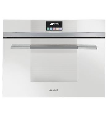 Smeg SFA4140MCB 50L Linear Aesthetic Compact Built-In Oven 1000W