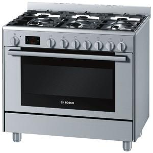 Bosch 90cm Serie 6 Dual Fuel Oven/Stove HSB738356A