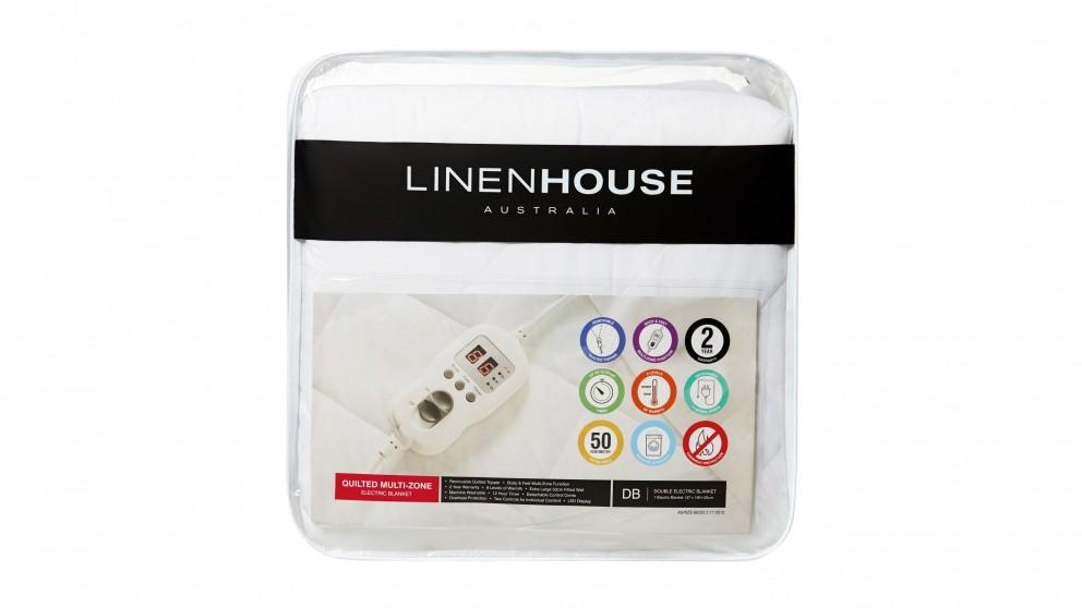 Linen House Quilted Electric Blanket – Super King