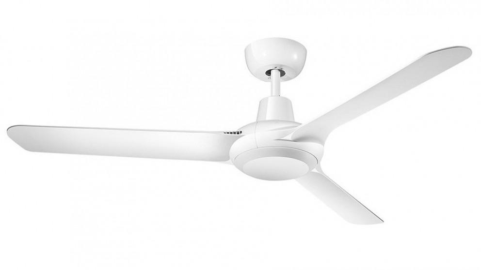Ventair Spyda 125cm 3 Blade Ceiling Fan – White