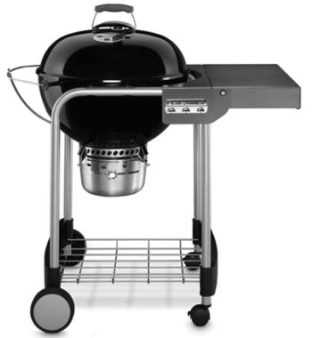 Weber K15301024 Performer Silver Kettle with Gourmet Barbecue System