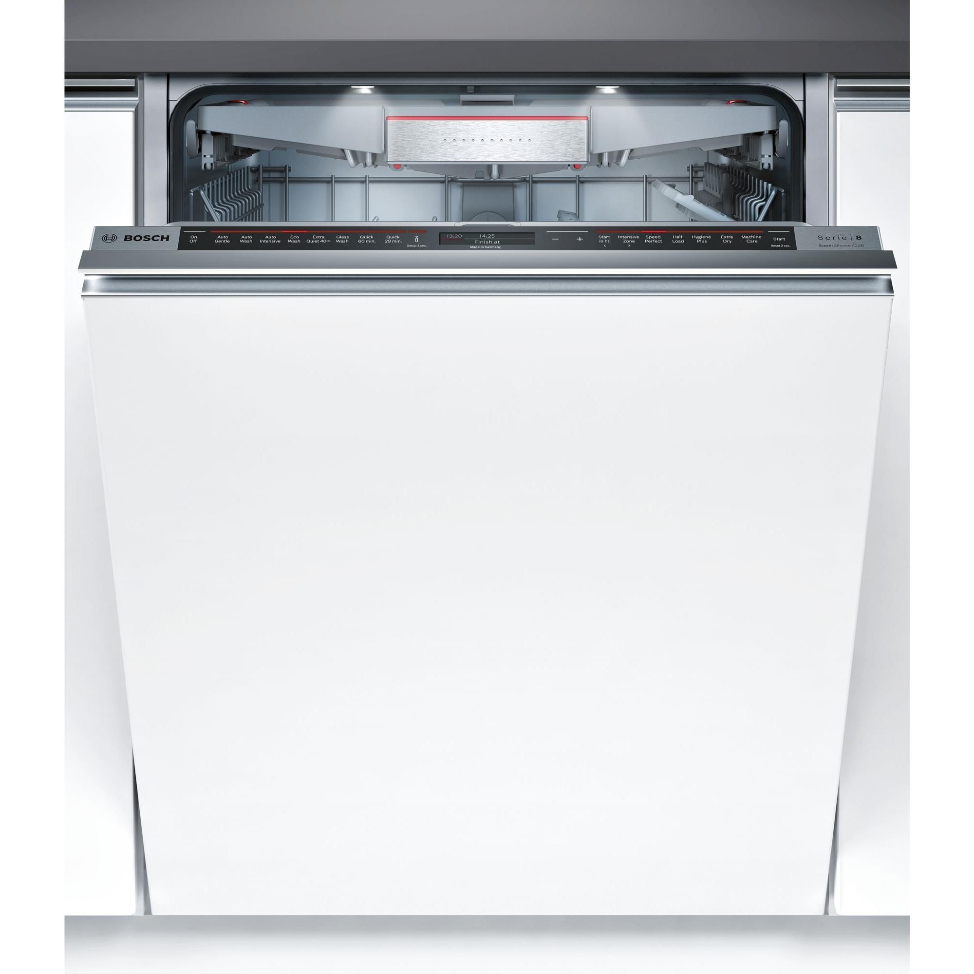 Bosch SMV88TX02A Full Integrated Dishwasher (Stainless Steel)