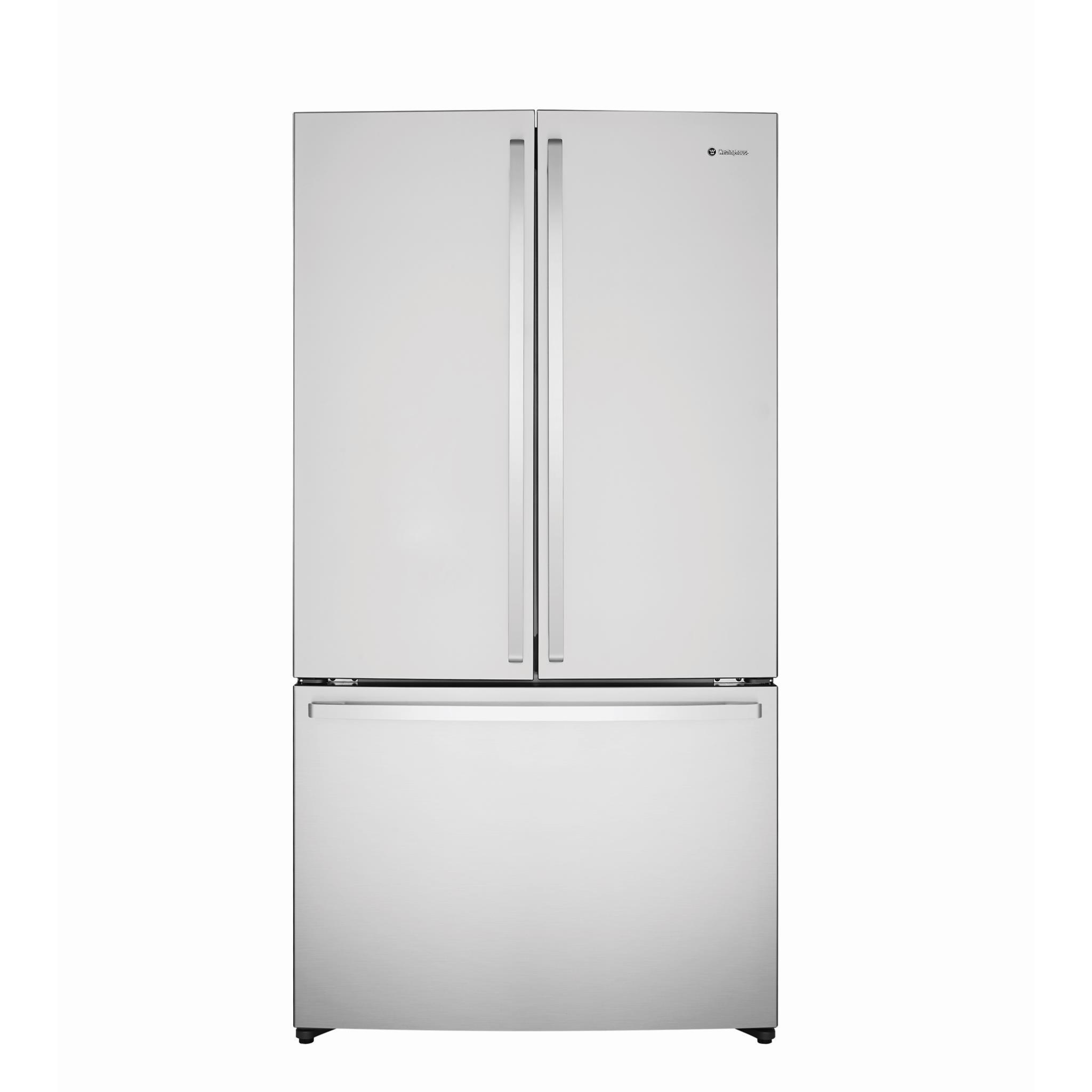 Westinghouse WHE6000SA 605L French Door Fridge (S/Steel)