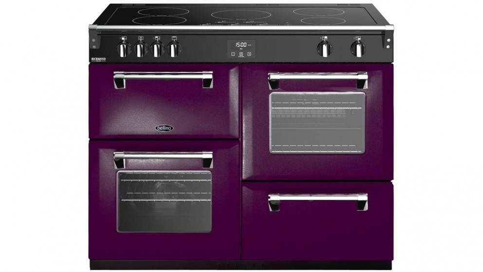 Belling 1100mm Colour Boutique Deluxe Induction Range Cooker – Wild Berry
