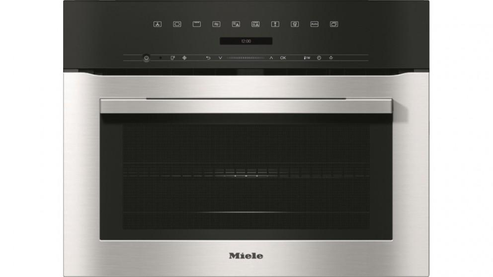 Miele H 7140 BM Speed Oven – Clean Steel