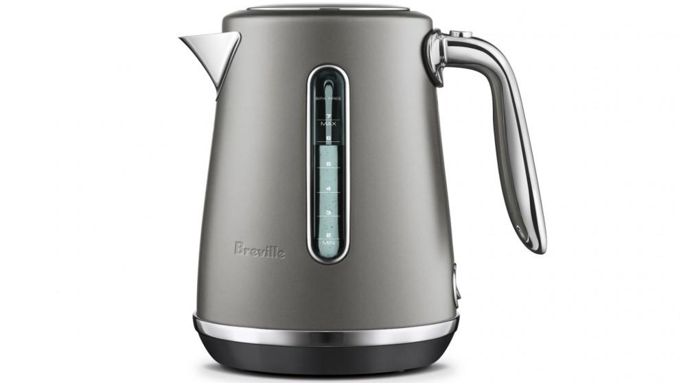 Breville Soft Top Luxe 1.7L Kettle – Oyster Shell