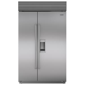 Sub-Zero 868L Integrated Side by Side Fridge with Dispenser ICBBI48SDSPH