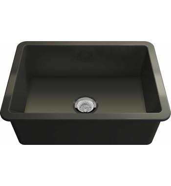 Turner Hasting CU68FS-MB Cuisine 68 Single Bowl Inset and Undermount Sink