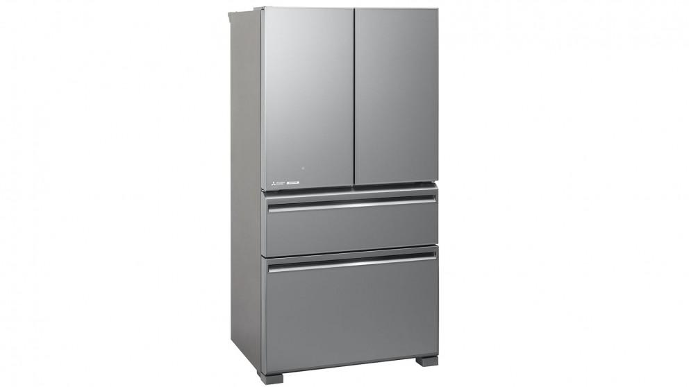 Mitsubishi Electric 630L French Doors Fridge – Argent Silver