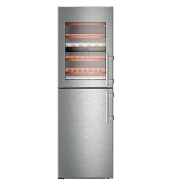 Liebherr 327L Upright Freezer with Wine Cellar SWTNES4265LH
