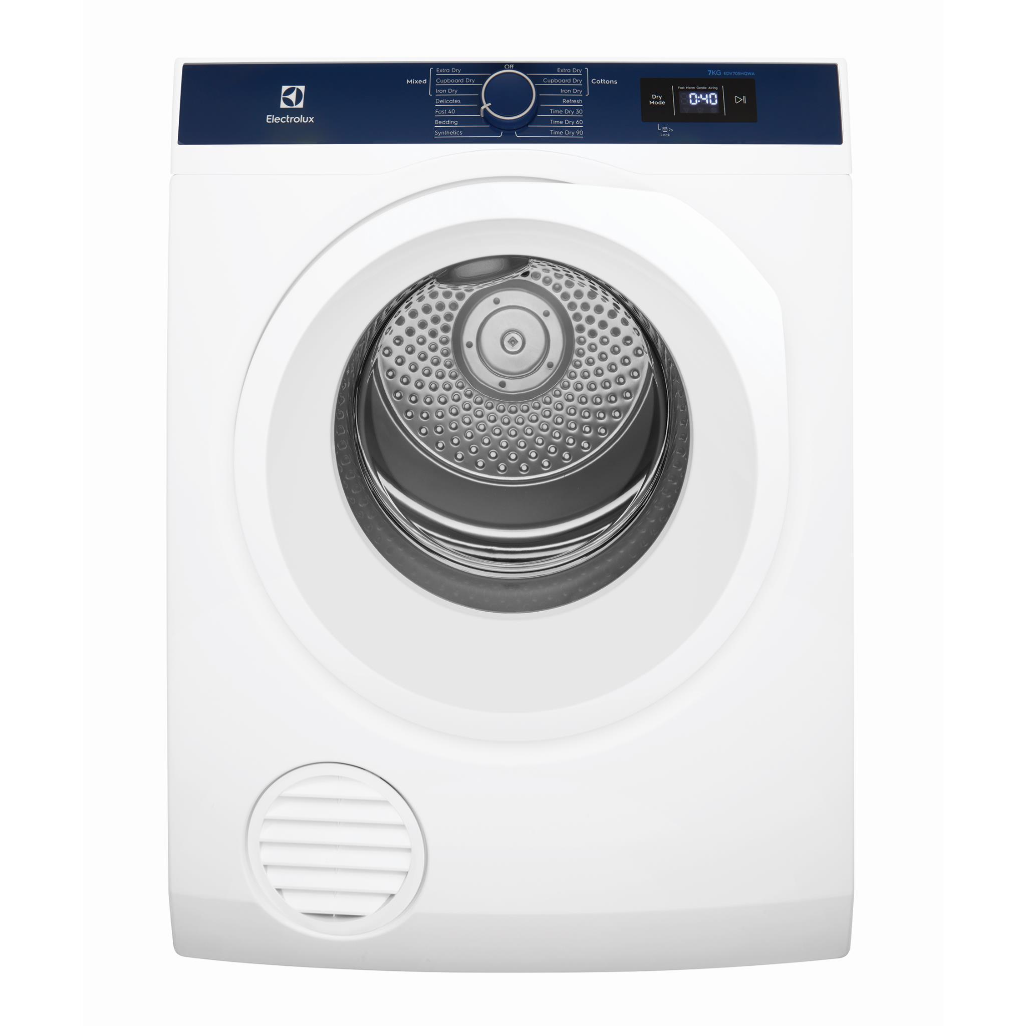 Electrolux EDV705HQWA 7kg Auto Vented Dryer