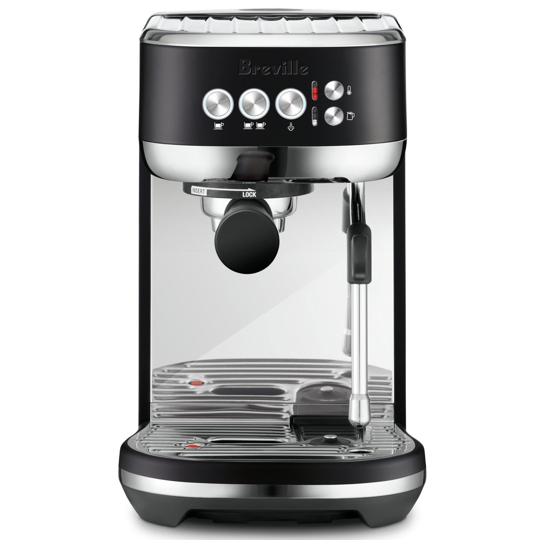 Breville Bambino Plus Espresso Coffee Machine (Black Truffle)