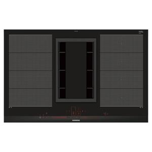 Siemens iQ700 80cm Induction Cooktop with Integrated Ducted Ventilation System EX875LX34E-HZ381401
