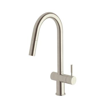 Sussex Taps VSMPO-08  Brushed Nickel Voda Pull Out Sink Mixer Tap