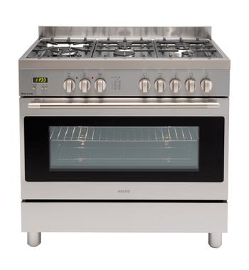 Euro Appliances EFS900GX 90cm Freestanding Natural Gas Oven/Stove