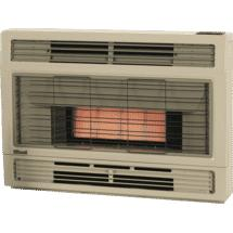 Rinnai Spectrum Console NG Beige Heater Flued