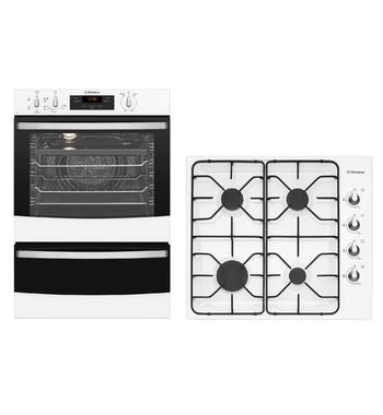 Westinghouse Cooking Package WVE665WWHG640WB