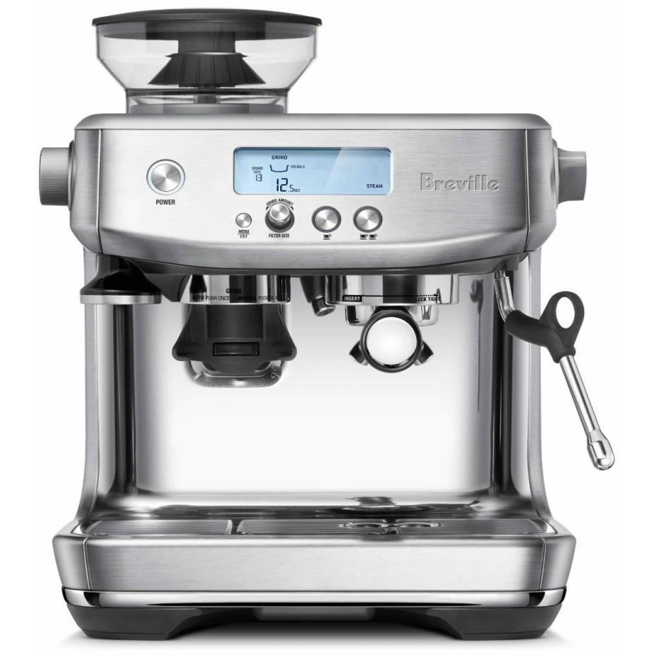 Breville the Barista Pro Coffee Machine (Brushed Stainless Steel)