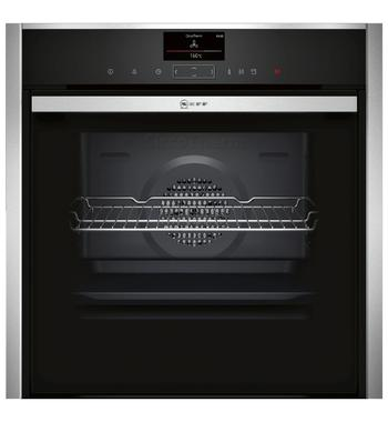 NEFF B57VS26N0B 60cm Pyrolytic Electric Built-In Oven with VarioSteam