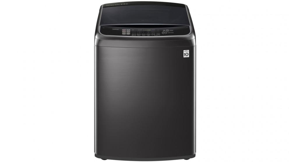 LG 14kg Top Load Washing Machine with TurboClean3D – Black Stainless Steel