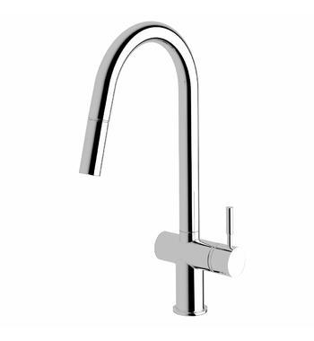 Sussex Taps VSMPO-13 Brushed Gunmetal Voda Pull Out Sink Mixer Tap