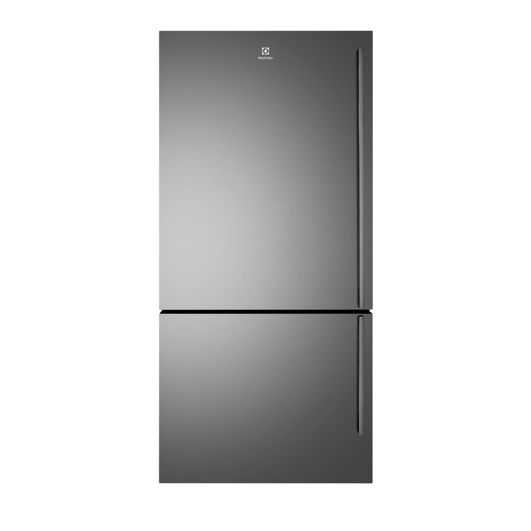 Electrolux EBE5307BB 530L 2 Door Bottom Mount Fridge (Dark S/Steel) [left]