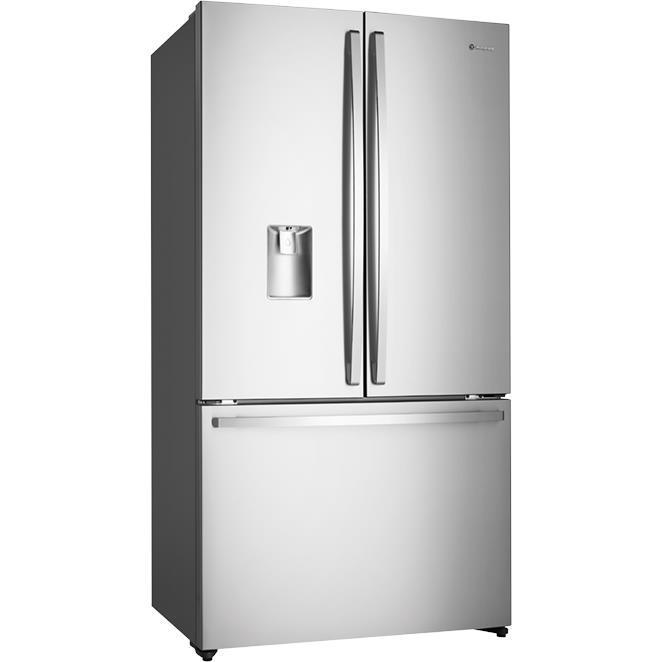 Westinghouse WHE6060SA 605L French Door Fridge (S/Steel)