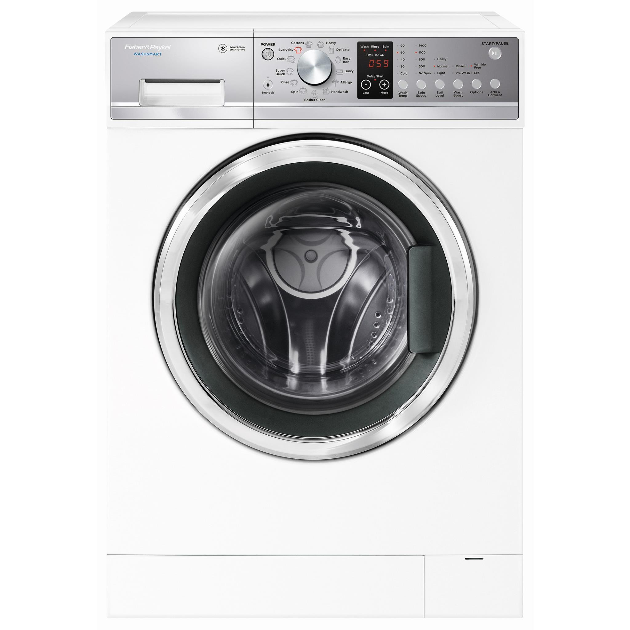 Fisher & Paykel WashSmart WH7560P2 7.5kg Front Load Washing Machine