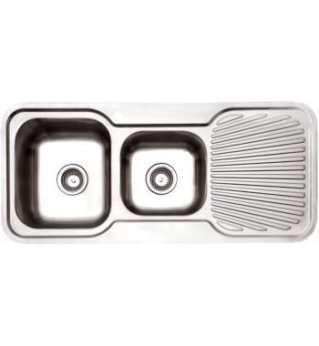 Arc IS11LS3 1 and 3/4 Bowl Right Hand Drainer Inset Sink