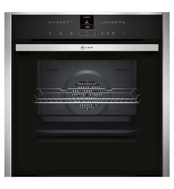 NEFF B57VR22N0B 60cm Pyrolytic Electric Built-In Oven with Variosteam