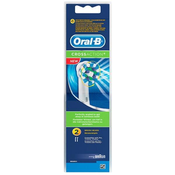 Oral-B Cross Action Refill 2 Pack