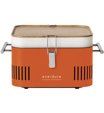 Everdure by Heston Blumenthal HBCUBEO Cube Portable Charcoal BBQ
