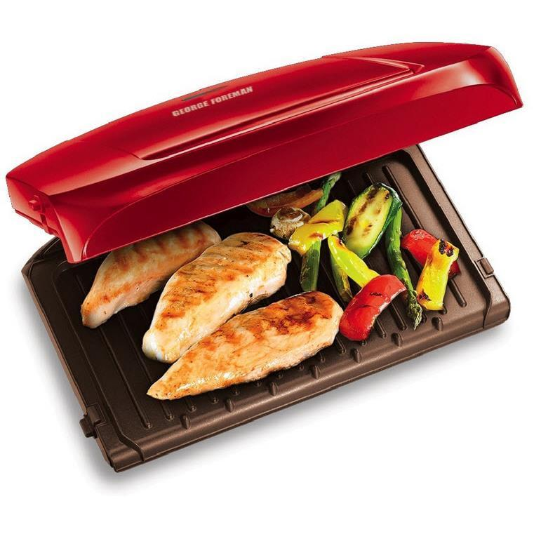 George Foreman GRP1080AU Easy To Clean Grilling Machine