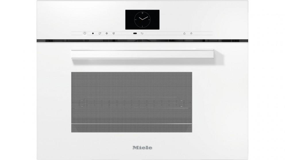 Miele DGM 7640 Steam Oven with Microwave – Brilliant White