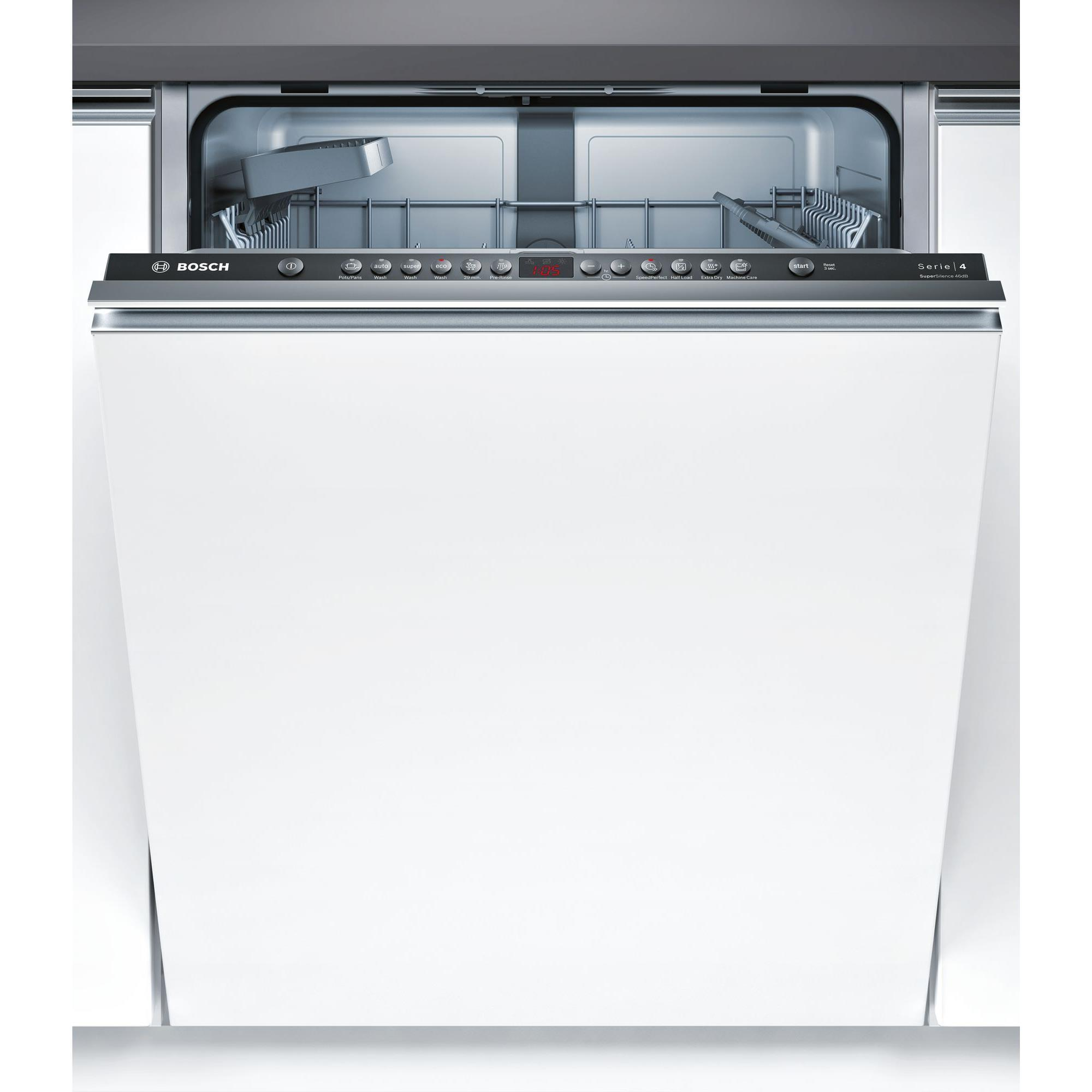 Bosch SMV46GX01A Fully Integrated Dishwasher (Stainless Steel)