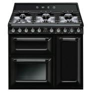Smeg – TRA93BL – 90cm Thermoseal Freestanding Cooker – Black