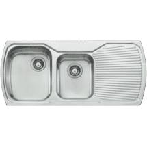 Oliveri 13/4 Bowl Inset Sink with Drainer